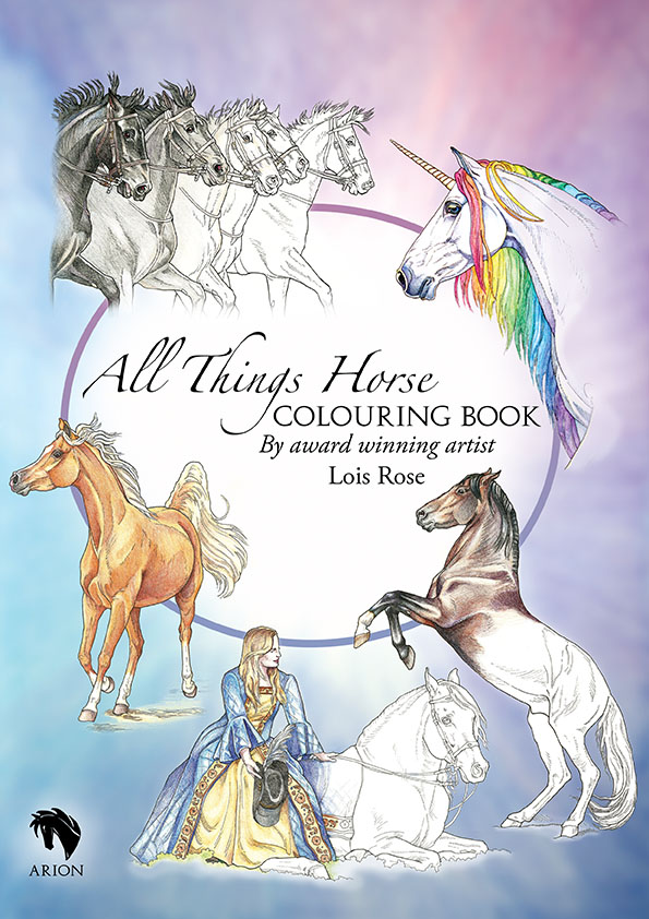 horse pages to color.html