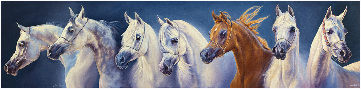 Horse painting Daughters of Justice